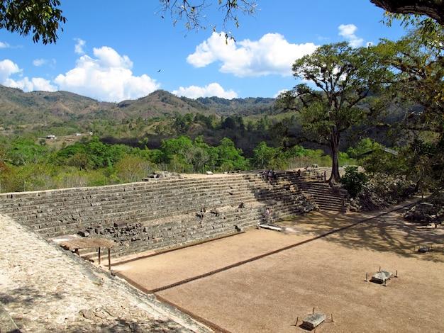 Древние руины в копане, гондурас