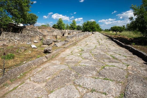 디온, 그리스의 고대 유적.