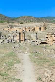 히 에라 폴리스, 파묵칼레, 터키의 고대 유적.