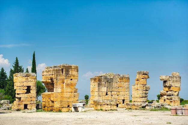 터키 파묵칼레 히에라폴리스 고대 유적