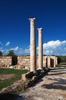 Древние руины саламин, северный кипр