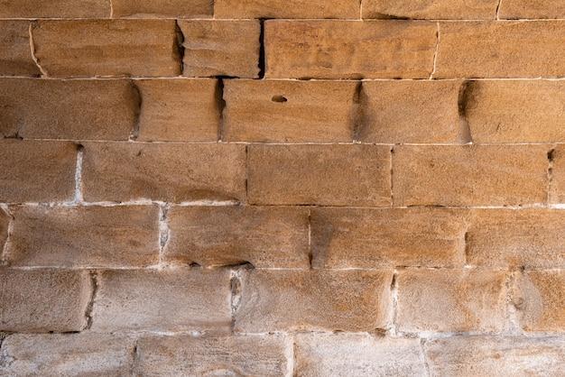 Древний песчаник каменная стена фон