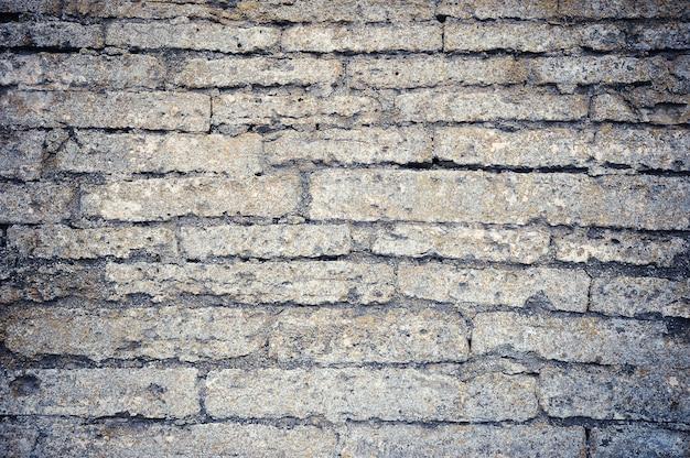 古代の石の要塞の壁の概要