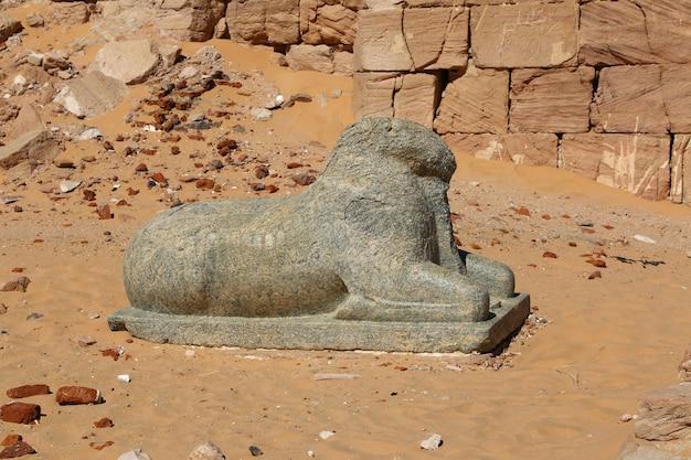 수단 제벨 바르칼에 있는 고대 파라오 신전