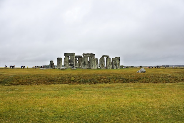 The ancient temple of stonehenge, england, uk