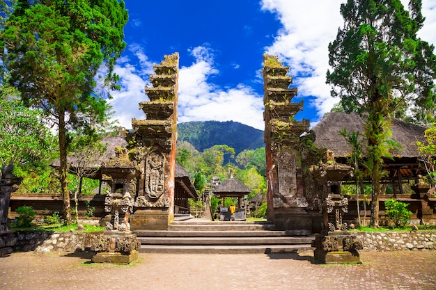 Ancient temples of bali