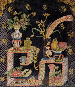 Ancient thai art in chinese style