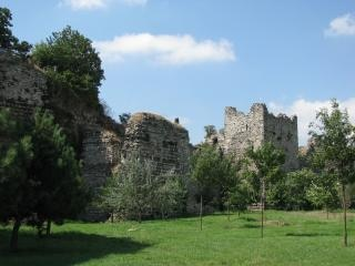 Ancient walls of the constantinople