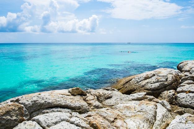 Andaman crystal sea white sand beach