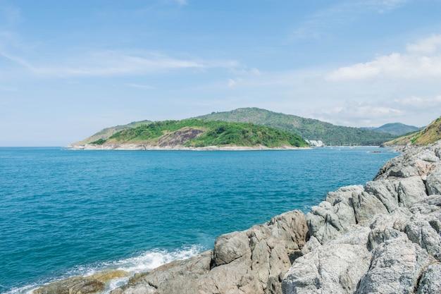 Andaman landscape of phuket. patong beach, karon beach, kata beach