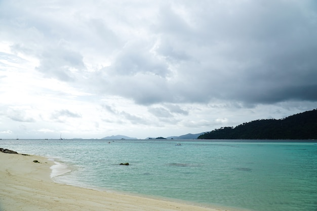 Andaman sea before a thunderstorm