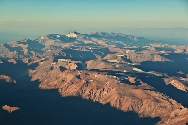 Andes, view from the plane