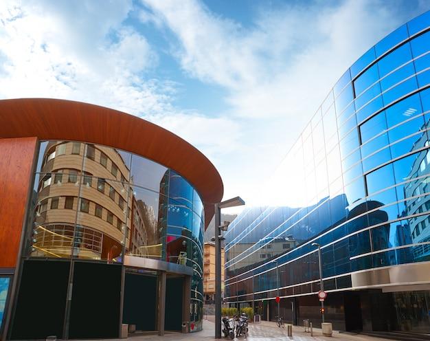 Andorra la vella commercial area street
