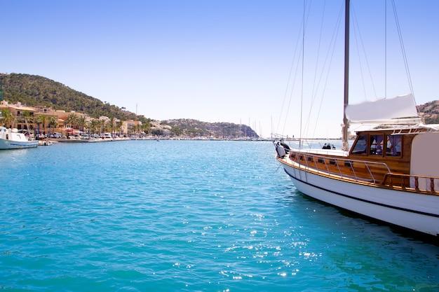 Andratx port marina in mallorca balearic islands