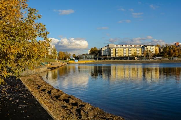 イルクーツクのアンガラ川。