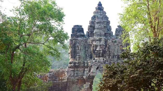 Ангкор ват ворота, камбоджа