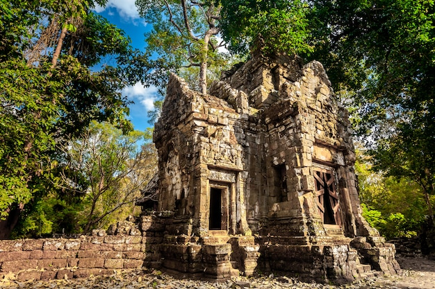 Angkor wat temple cambodia. ancient architecture