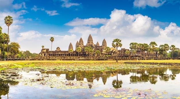 Храм ангкор-ват в сием рип, камбоджа