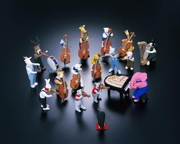 Animals and music