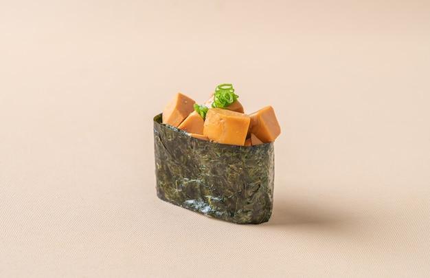 Ankimo 초밥, 아귀 간 초밥 밥