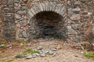 Annestown beach kiln   hdr  building