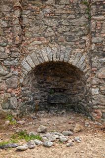 Annestown beach kiln   hdr  textural