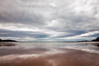 Annestown beach  sea