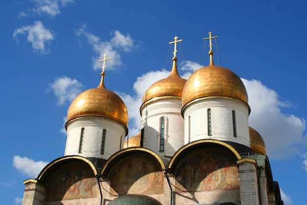 The annunciation cathedral and the archangel