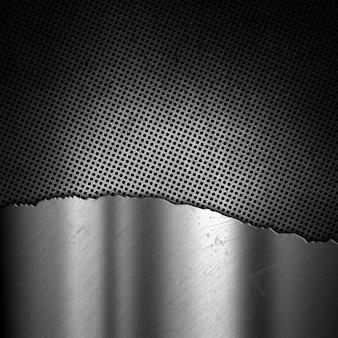 グランジ効果を持つanstract金属背景