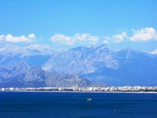 Antalya and the taurus mountains