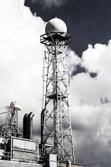 Antenna communication via telephone and the internet.
