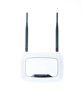 Antenna wi-fi router isolated