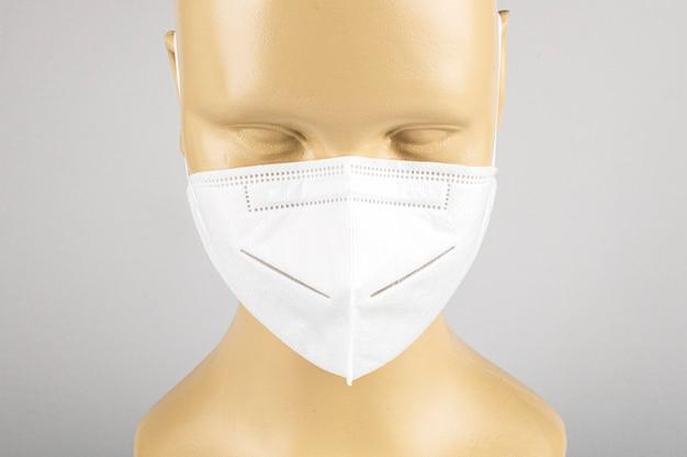 마네킹에 안티 대기 오염 얼굴 마스크