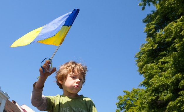 Anti putin demonstration in support of ukraine's unity and termination of russian aggression against ukraine.