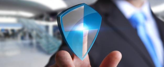 Anti virus shield protection