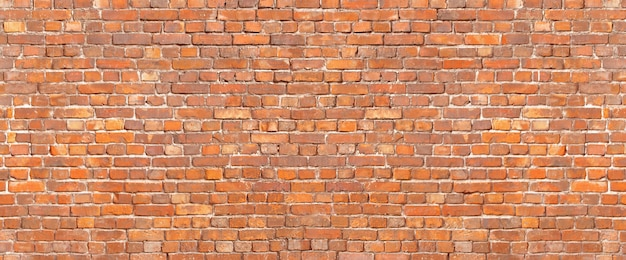 Antique brick wall texture. old brickwork background exterior