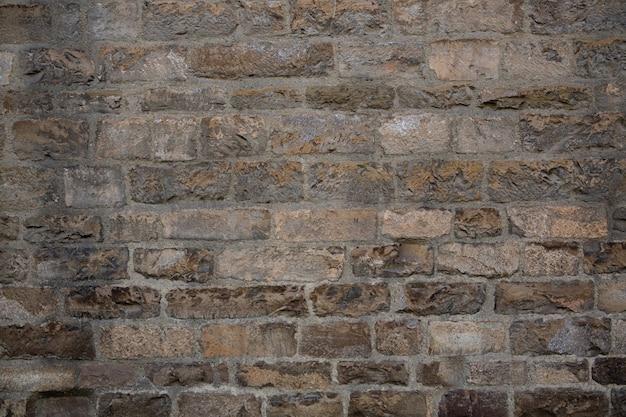 Antique brickwork wall
