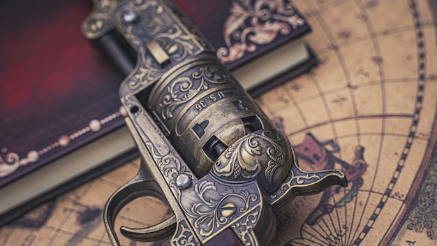 Antique firearm gun