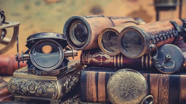 アンティークマリン双眼鏡