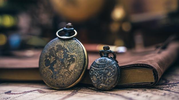 アンティークペンダント懐中時計