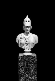 Antique sculptures isolate ancient greece marble classical sculpture on a blank background art body ...