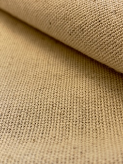 Antique style canvas texture folded fabric background