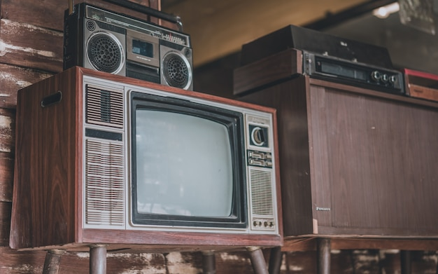 Antique television collection