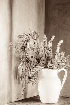アンティークテクスチャ自然花植物