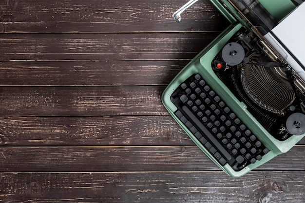Antique typewriter, vintage typewriter machine