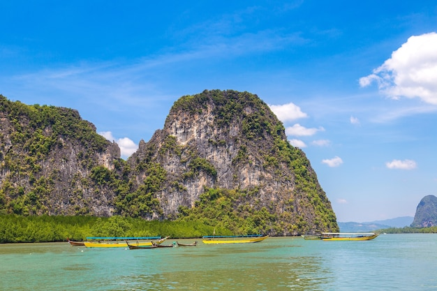 Национальный парк ао пханг нга, таиланд