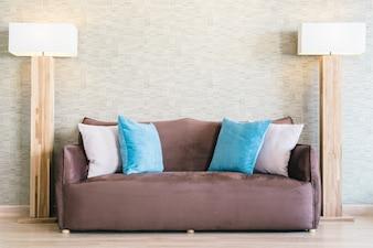Apartment interior wood livingroom living
