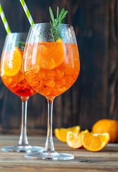 Бокалы для коктейля aperol spritz
