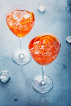 イタリアン食前酒aperol spriz