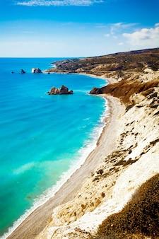 Легендарное место рождения афродиты в пафосе, кипр